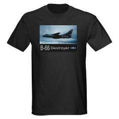 B-66 Destroyer Bomber Dark T-Shirt #Aircraft #Tshirts
