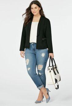Pretty Plus Size Fashion Help; Rapid Secrets Of Plus Size Fashion - Cloths Joy Summer Work Outfits, Fall Outfits, Fashion Outfits, Womens Fashion, Fall Fashion, Fashion Black, Style Fashion, Olsen Fashion, Color Fashion
