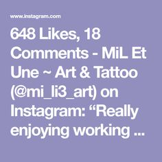 "648 Likes, 18 Comments - MiL Et Une ~ Art & Tattoo (@mi_li3_art) on Instagram: ""Really enjoying working on these ocean inspired tattoo commissions <3 these two are definitely part…"""