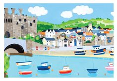 'Conwy' by Janet Bell