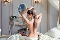 Beautiful sexy lady in elegant pose by Galina Tcivina - Photo 146089467 - 500px