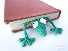 Amigurumi Gecko Lesezeichen häkeln