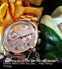 Michael Kors Paris Limited edition watch