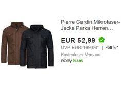 Pierre Cardin: Microfaser-Jacke für 52,99 Euro frei Haus via Ebay https://www.discountfan.de/artikel/klamotten_&_schuhe/pierre-cardin-microfaser-jacke-fuer-5299-euro-frei-haus-via-ebay.php Für einen Tag sind bei Ebay Microfaser-Jacken von Pierre Cardin zum Schnäppchenpreis von 52,99 Euro frei Haus. Verfügbar sind die Jacken in zwei Farben und den Größen 48 bis 58. Pierre Cardin: Microfaser-Jacke für 52,99 Euro frei Haus via Ebay (Bild: Ebay.de) Die Microfaser-Jacken