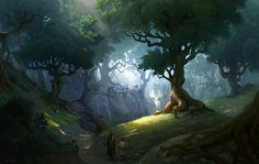 ArtStation - Spirit of the forest, Andrei Stef