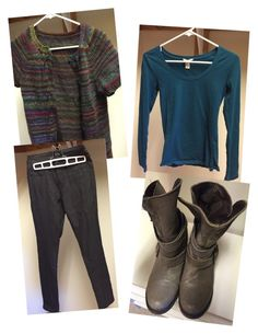 """""""Business Casual Handknit Stripe"""" by amy-flannery-skaar on Polyvore"""