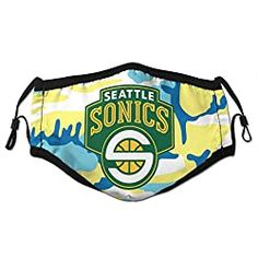 Seattle Sonics Face Masks | SeattleTeamGear.com