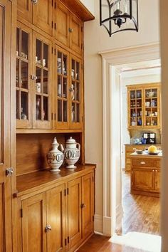 """""""Pantries that are big enough to be functional, but do not look like it from the outside."""" – Dan S., from Facebook"""