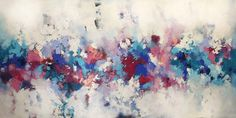 Extra Large Abstract Painting/ 60 Inch Wall Art Canvas/