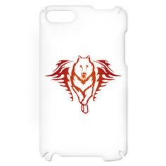 Wolf Tribal Tattoo iTouch 2 Case on CafePress.com
