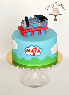 Train Thomas cake