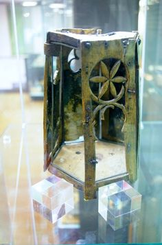Medieval lantern from Lubeck.