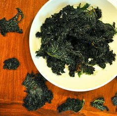 Healthy Like This: Recipe: Miso Ginger Kale Chips