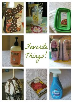 "a ""my favorite things"" party -- fun fun FUN idea for a girls' night in!"