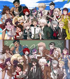 Monokuma Danganronpa, Super Danganronpa, Danganronpa Memes, Nagito Komaeda, Danganronpa Characters, Pink Blood, Danganronpa Trigger Happy Havoc, Doja Cat, Another Anime