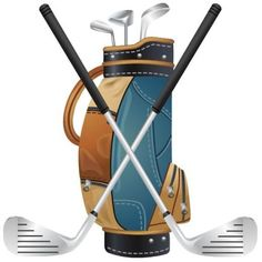 "<span class=""caption_text"">Golf bag and golf clubs clip art</span>"