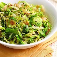 Sauteed Brussels Sprouts with Caraway & Lemon - EatingWell.com