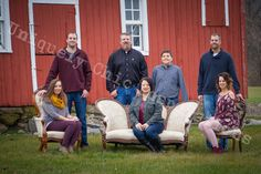 Family photos with awesome red barn and antique furniture Uniquely Chic Inspirations by Crystal Engstrom Antique Furniture, Family Photos, Barn, Crystals, Antiques, Chic, Awesome, Red, Inspiration