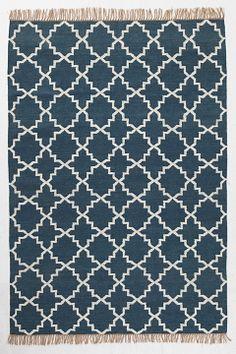 Ellos Home Blå Teppe Abilene 170x240 cm