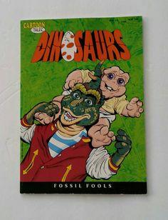 Dinosaurs Cartoon Tales Citizen Robbie TV Show by FlatRockGoods