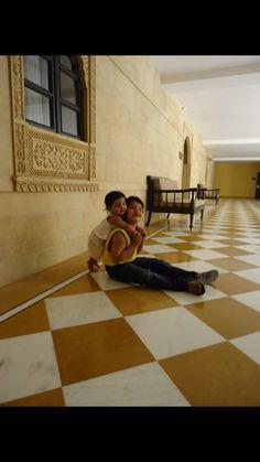 With Bhai
