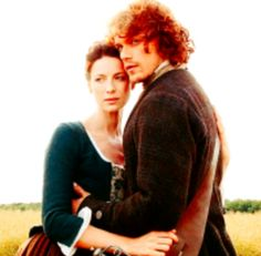 Outlander. Claire and Jamie Fraser