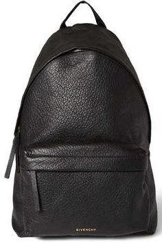 We are committed to giving you some detailed descriptions of the bags and the reasons why you need to have this kind. Givenchy Backpack, Leather Backpack, City Outfits, Givenchy Women, Fashion Backpack, Black Leather, Backpacks, Mens Fashion, Handbags