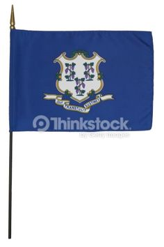 Stock Photo : Connecticut state flag