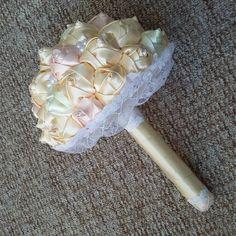 #brautstrauß #wedding#kanzashi #букетневесты #букет #außergewöhnlich