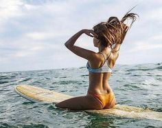 garnier beach hair Surf Girls, Beach Girls, Photo Surf, Wind Surf, Surf Fishing, Foto Sport, Surf Hair, Beach Hair, Surfing Pictures
