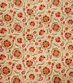 Upholstery Fabric-Jaclyn Smith Clarinet Artwork