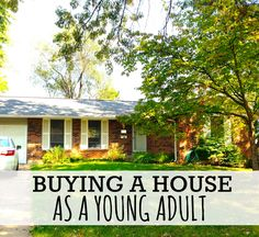 Buying a House at 20 (How I did it). I bought my first house at the age of 20. It was hard and I made many mistakes! http://www.makingsenseofcents.com/2012/12/buying-a-house-at-20-how-i-did-it.html #homebuying #budget