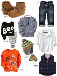 Fall Toddler Boy Clothes
