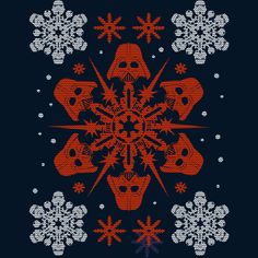 Empire Snowflakes is a T Shirt designed by StarWars to illustrate your life and is available at Design By Humans