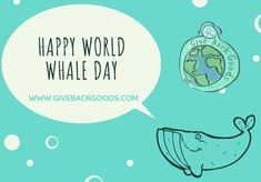 @givebackgoods posted to Instagram: Giants of the ocean are celebrated on World Whale Day, which aims to raise awareness of these magnificent creatures. The annual holiday was founded in Maui, Hawaii, in 1980, to honour humpback whales, which swim off its coast. . . Shop to save whales at GiveBackGoods.com (link in bio, shipping is always included). . . #GiveBackGoods #GiveBack #gogreen #ecofriendly #zerowaste #sustainability #sustainable #eco #nature #environment #green #gogreen #savetheplanet Save The Whales, International Holidays, Humpback Whale, Maui Hawaii, Giving Back, Save The Planet, Go Green, Sustainability, Coast