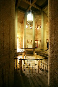 Inside of AVICENNA  *Ebne-Sina* Tomb and his grave