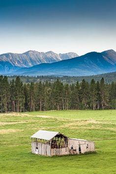 Lost Horse Pole Barn Hamilton, Montana