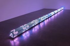 Jenny Holzer 'RAM' (2016) features in her major solo exhibition of new work opening this Sunday 11 June at Hauser & Wirth Zürich. – 'RAM' is a three-sided LED stretching over seven metres long. Words scroll along each face of the horizontal LED at varying speeds, before flashing, blacking out and then breaking into a rainbow spectrum of colour that casts a mesmerising glow on the surrounding floor. The differing speeds evoke speech patterns that Holzer describes as 'the kinetic equivalent to…