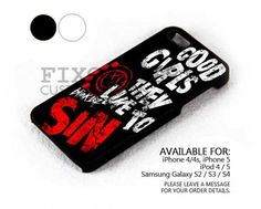 Blink 182 Good Girl case for iPhone 4/4S/5 iPod 4/5 Galaxy S2/S3/S4 | FixCenter - Accessories on ArtFire