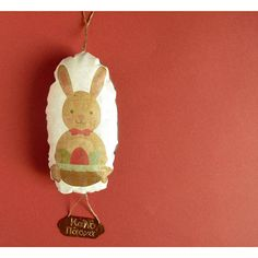 Easter bunny rabbit decoration Vintage decoration Easter decoration hangings Hanging decoration Bunny rabbit gift for family under twenty