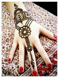 stylish beautiful full hand mehndi designs 4