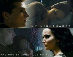 Everlak nightmares about Katniss ♡