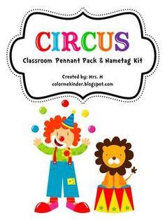 Circus Classroom Kit