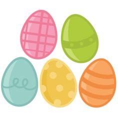 Easter Egg Set SVG scrapbook cut file cute clipart files for silhouette cricut pazzles free svgs free svg cuts cute cut files