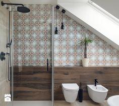 zabytkowa willa w Krakowie - Łazienka, styl eklektyczny - zdjęcie od double look design | design | patchwork | details | mirror | mosaic | vintage | bathroom | interior | inspiration