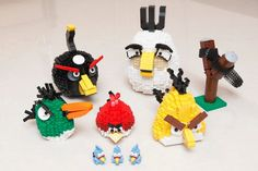Cool Angry Bird Lego Build  (Just photos, no tutorial)