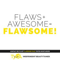 It's just that simple. Perfect is boring. Flawsome is beautiful! We're all about embracing what makes us different. So, what makes YOU Flawsome? #ImFlawsome http://multibra.in/6ssbt