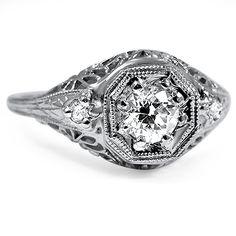 The Loras Ring.  Art Nouveau