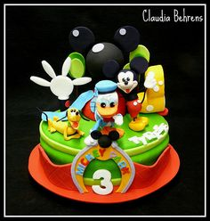 mickey mouse cake tyrese - claudia behrens | claudia behrens… | Flickr