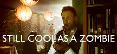 """Jeff Winger as a sexy zombie. 